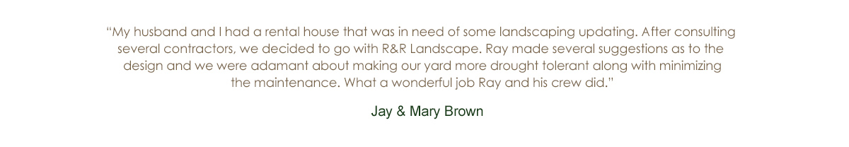 R and R Landscaping Services